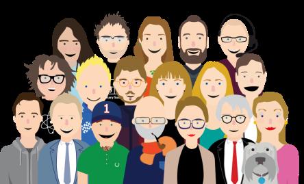 Team animated